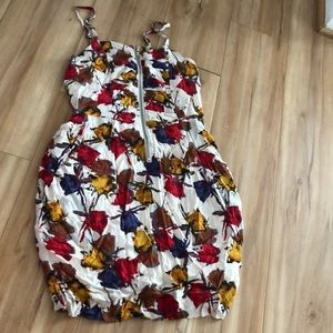 Fall mini dress